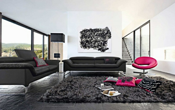 le salon roche bobois un conte de f e moderne. Black Bedroom Furniture Sets. Home Design Ideas