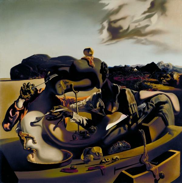 Autumnal Cannibalism 1936 par Salvador Dali 1904-1989