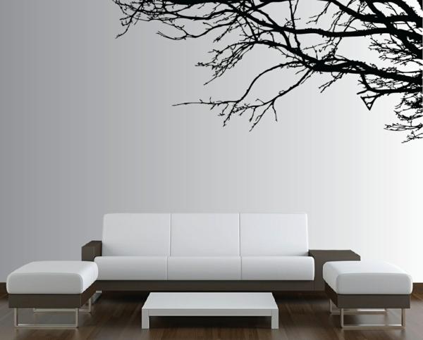 simple-et-jolie-décoration-de-salle-de-séjour-en-blanc-et-noir