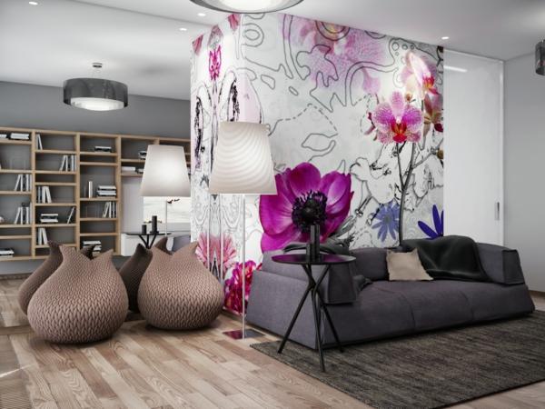 sticker-chambre-adulte-décoration-salon-sticker-flores