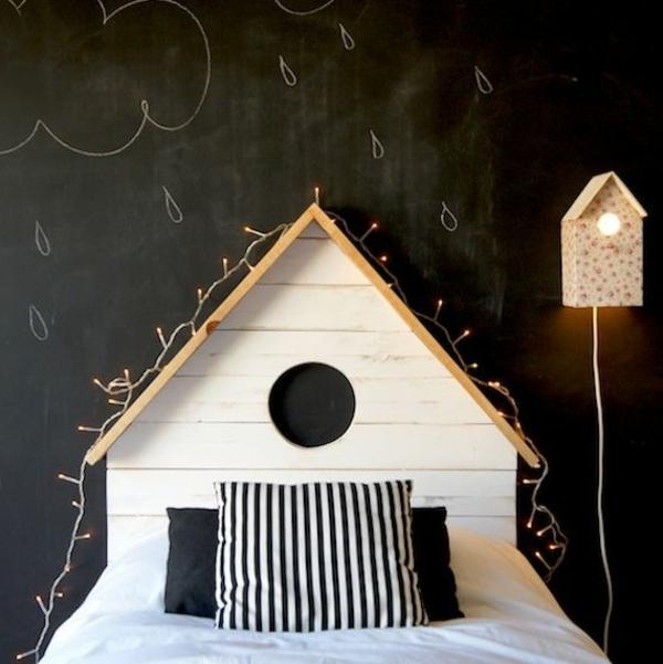 50 id es pour fabriquer une t te de lit - Tete de lit fait maison ...