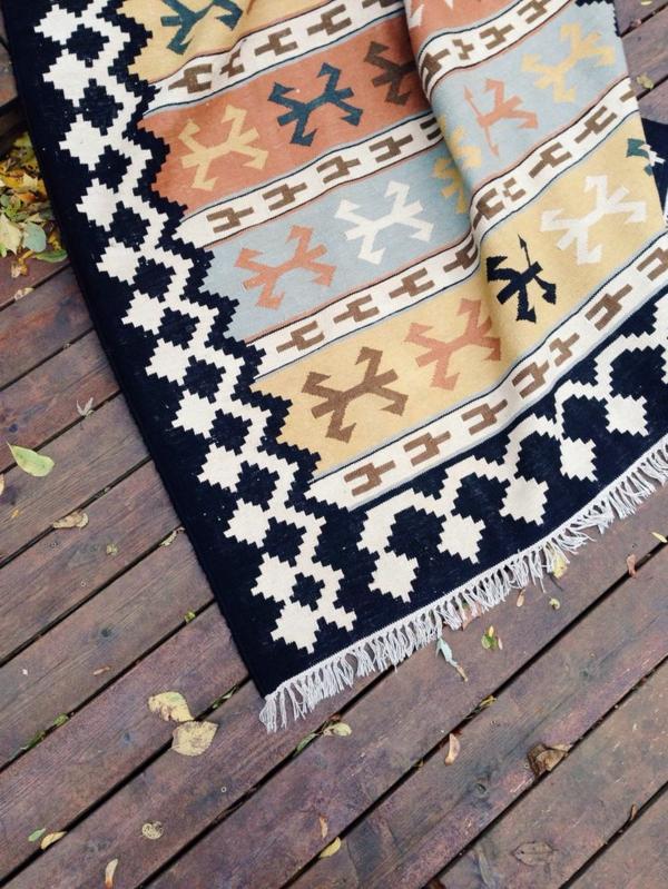tapis-coloré-vintage