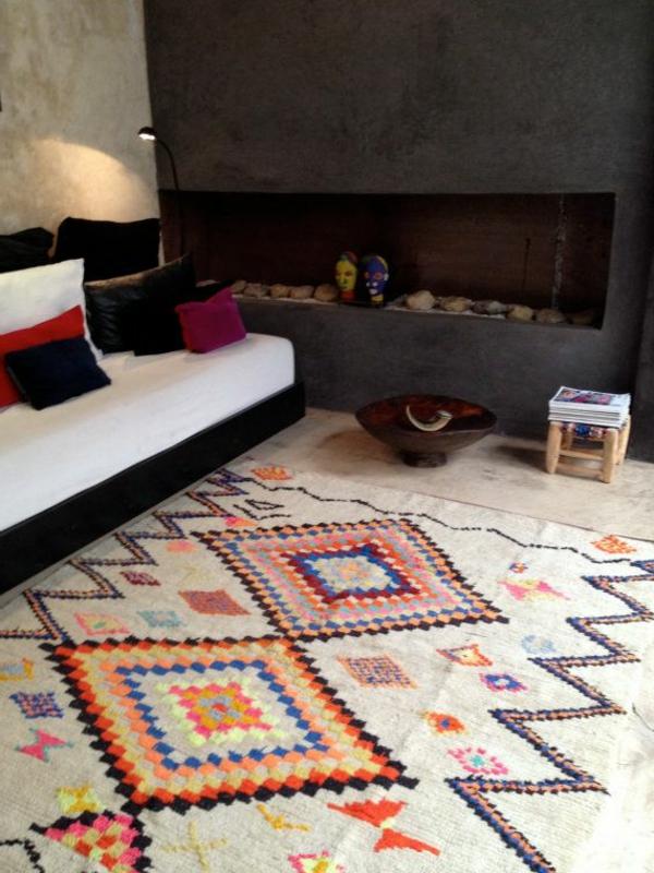 tapis-vintage-chambre-de-séjour-clair