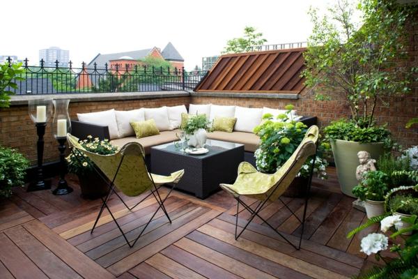 Terrasse en bois ou composite id es merveilleuses pour l - Idee deco terrasse exterieure ...