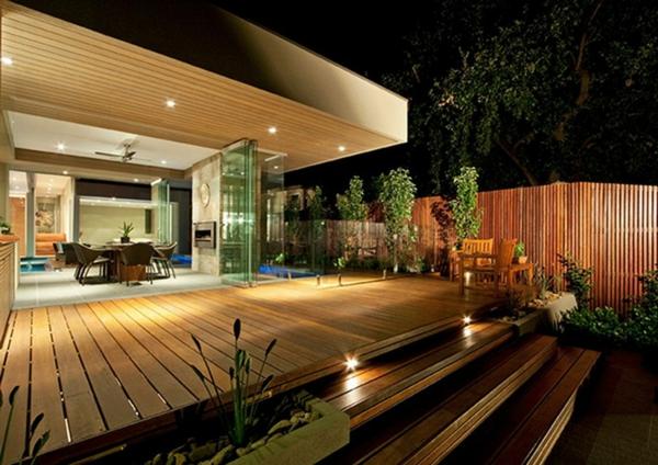 Terrasse en bois ou composite id es merveilleuses pour l 39 ext rieur - Sol composite pour terrasse ...
