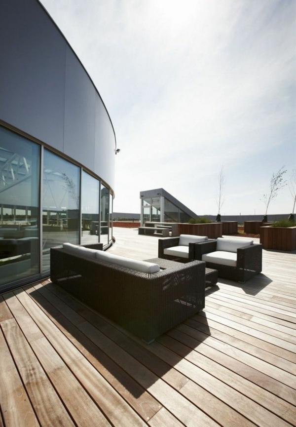 terrasse en bois ou composite, terrasse spectaculaire
