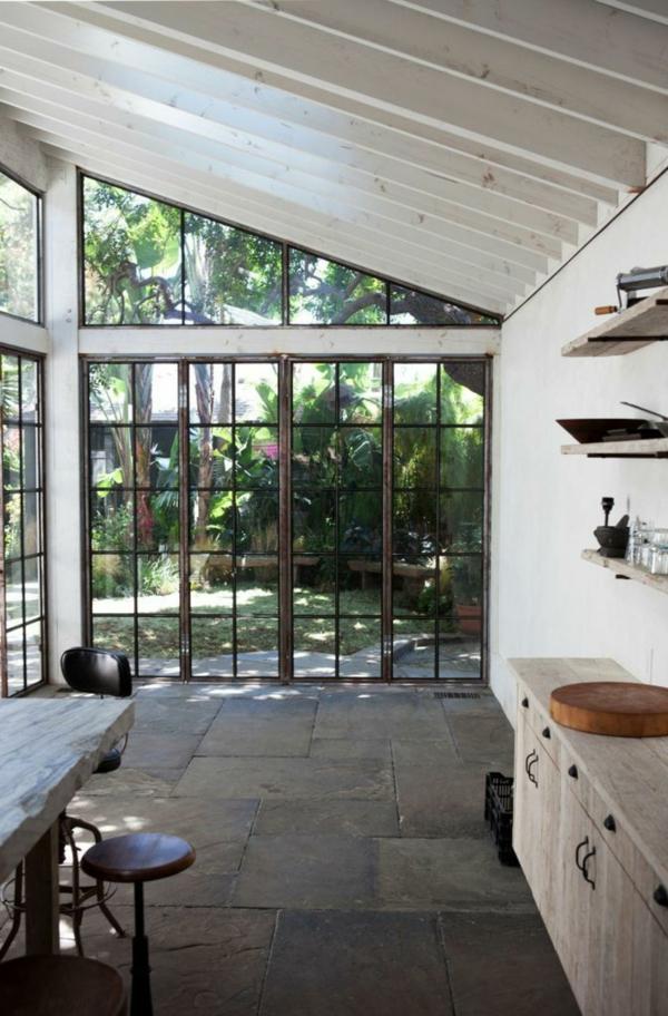 Commode chambre adulte, toit en verre