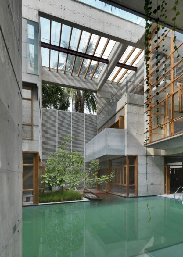 toit-en-verre-originale-plantes-verts