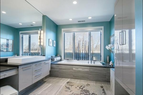 vasque-rectangulaire-salle-de-bains-bleue