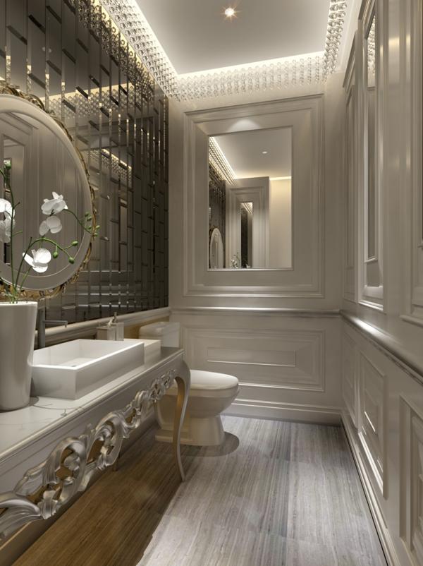 vasque-rectangulaire-salle-de-bains-glamoureuse-style-art-déco