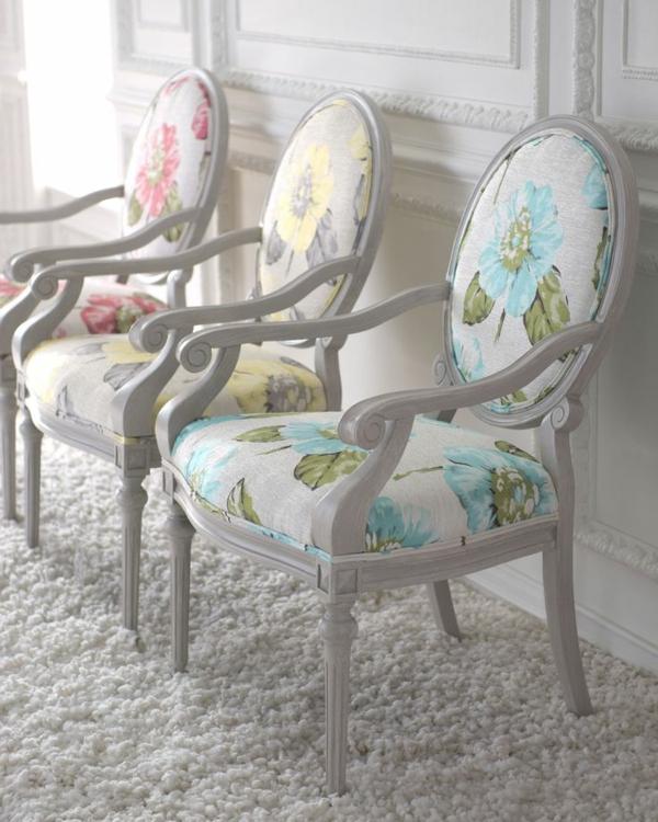 vintage-chaise-fleurs