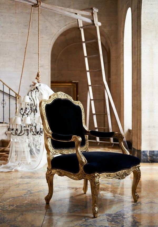vintage-chaise-noir
