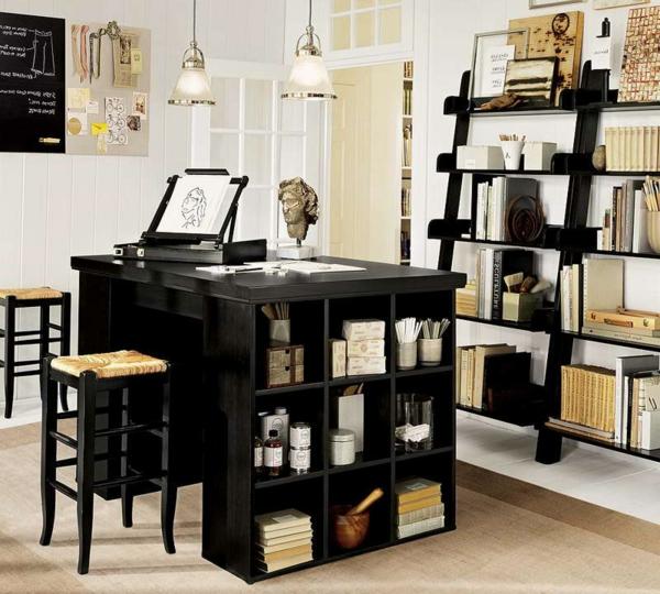 étagères-cubes-et-bureau