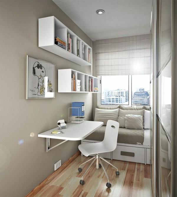 étagères-cubes-office-de-travail-à-la-maison