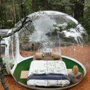 Dormir dans une bulle , les places les plus extraordinaires pour dormir !