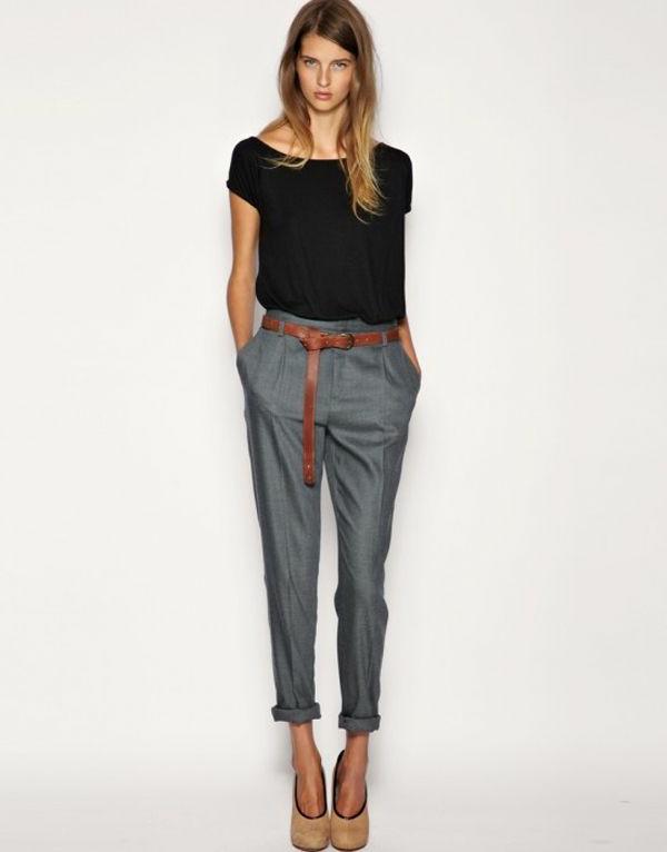 0-pantalon-gris-taille-haute-femme