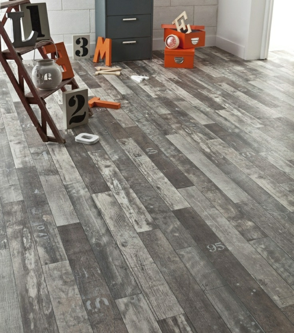 Poser du lino dans votre demeure id es en photos - Comment poser vinyle sol ...