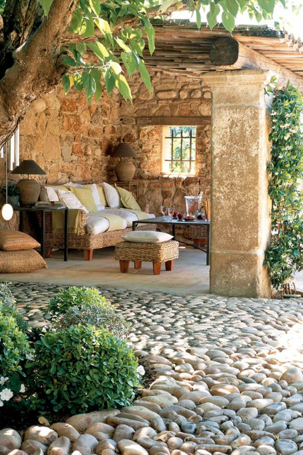 Amenager Son Jardin Avec Des Pierres - Maison Design - Sibfa.com