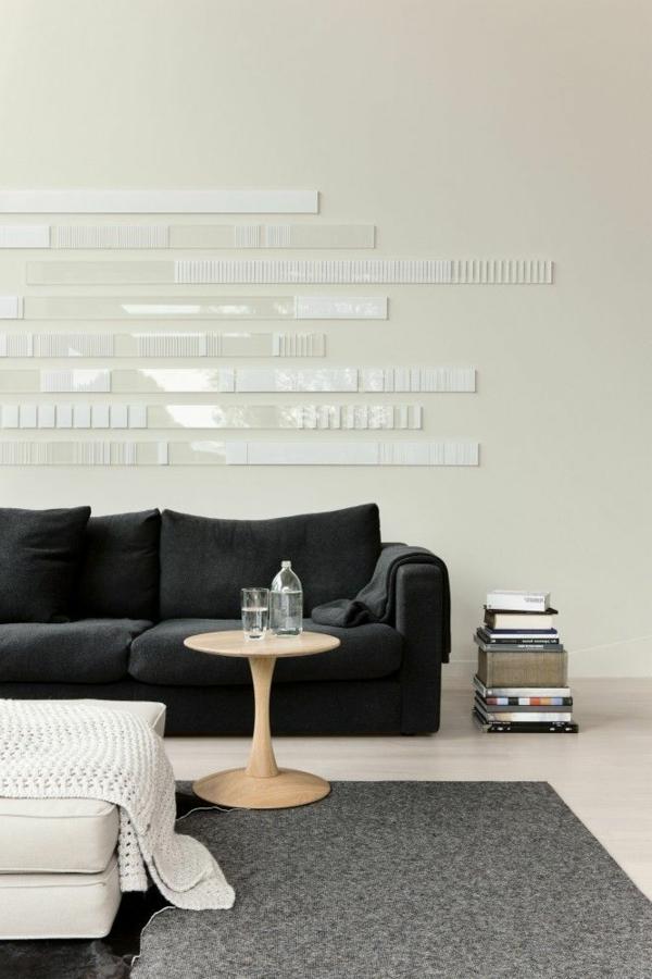 55 id es pour poser du carrelage mural chez soi. Black Bedroom Furniture Sets. Home Design Ideas