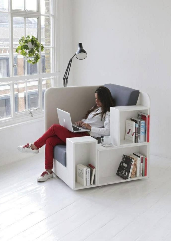 1-chaise-de-bureau-blanc-confortable-idée-créative