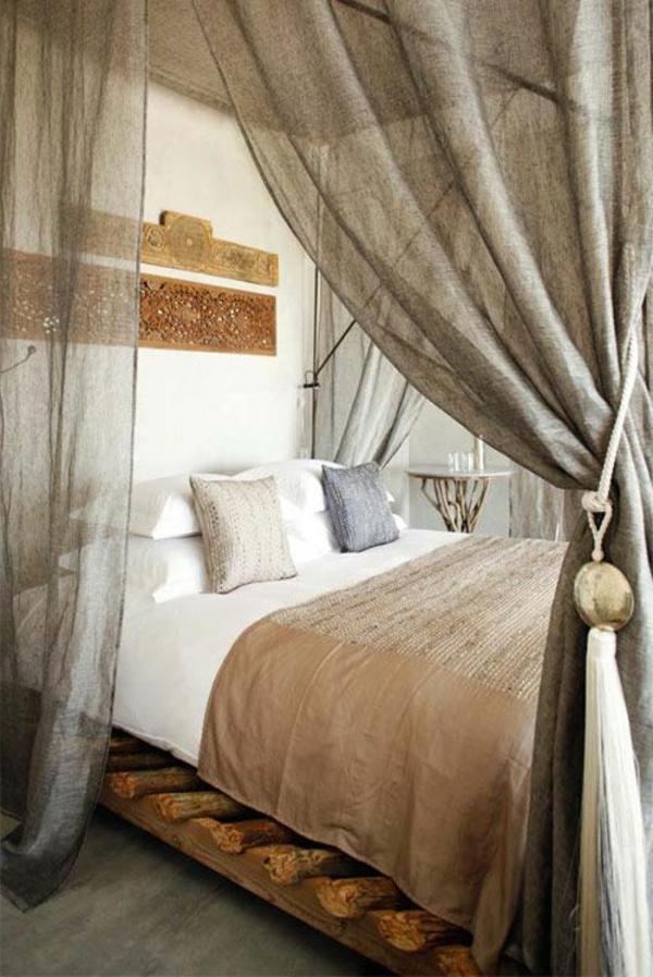 1-chambre-à-coucher-voile-de-lit-gris