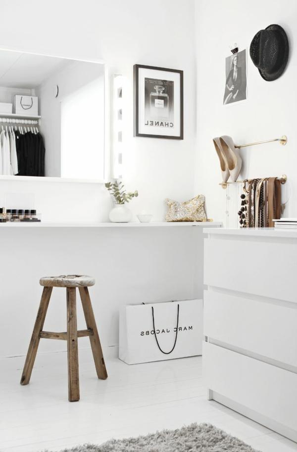 La table de maquillage pour votre coin de beaut - Chambre avec coiffeuse ...