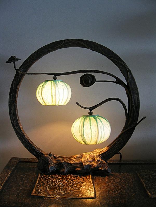 La lampe d corative une d cision cr ative pour la chambre - Creer des lampes originales ...