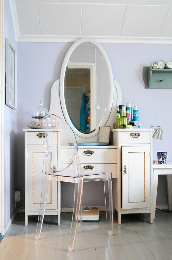 la table de maquillage pour votre coin de beaut. Black Bedroom Furniture Sets. Home Design Ideas