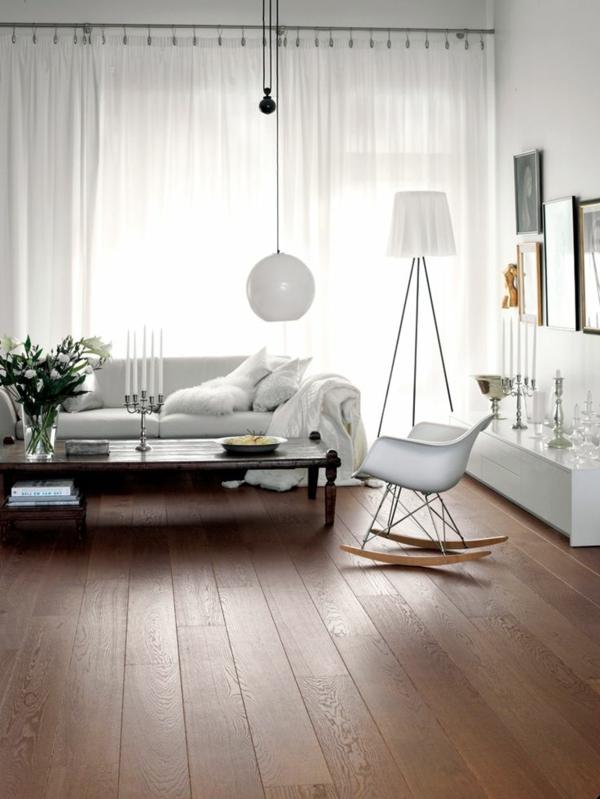 Le parquet massif id al pour votre int rieur commode for Parquet pour salon moderne