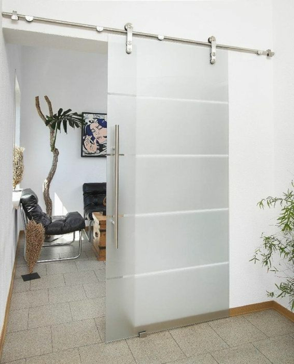 Comment choisir la plus belle porte vitr e - Lapeyre porte coulissante en verre ...