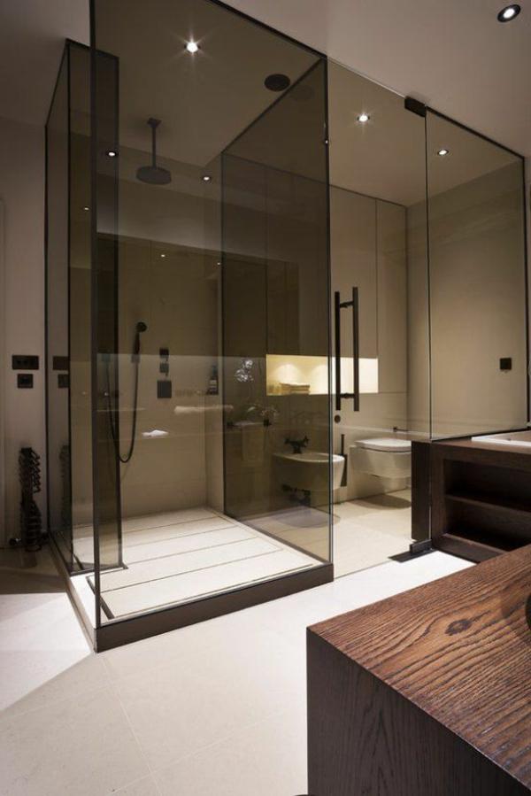Porte vitree pour salle de bain 28 images les travaux for Porte coulissante en verre pour salle de bain