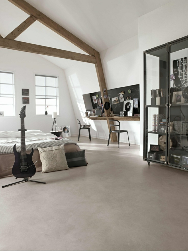poser du lino dans votre demeure id es en photos. Black Bedroom Furniture Sets. Home Design Ideas