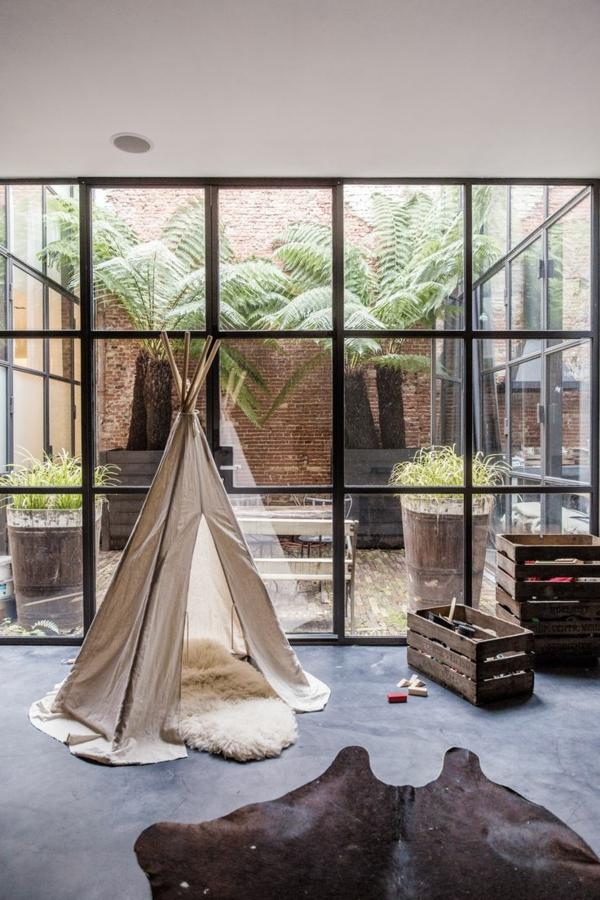 1-poser-du-lino-gris-chambre-avec-tente