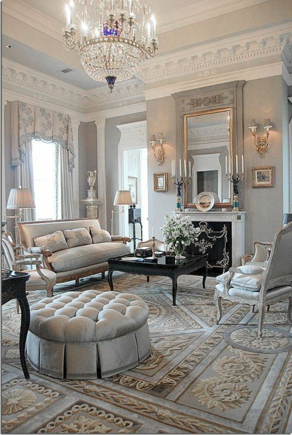 Unique Rideaux Salon Decoration