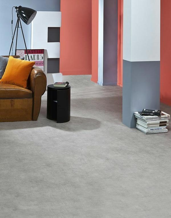 2-sol-en-lino-gris-salon-murs-colorés