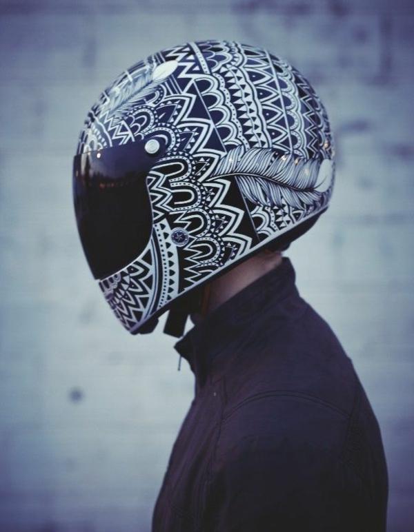 casque-cool-style-tribe-moto-original-noir