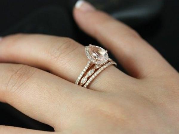 bague de marie avec trois anneaux jolie - Bague De Mariage Cartier .