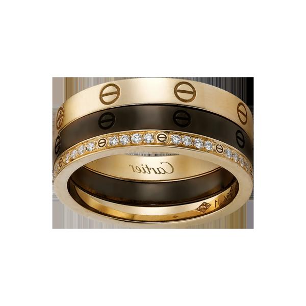 Une bague trois anneaux – 50 idées chiques