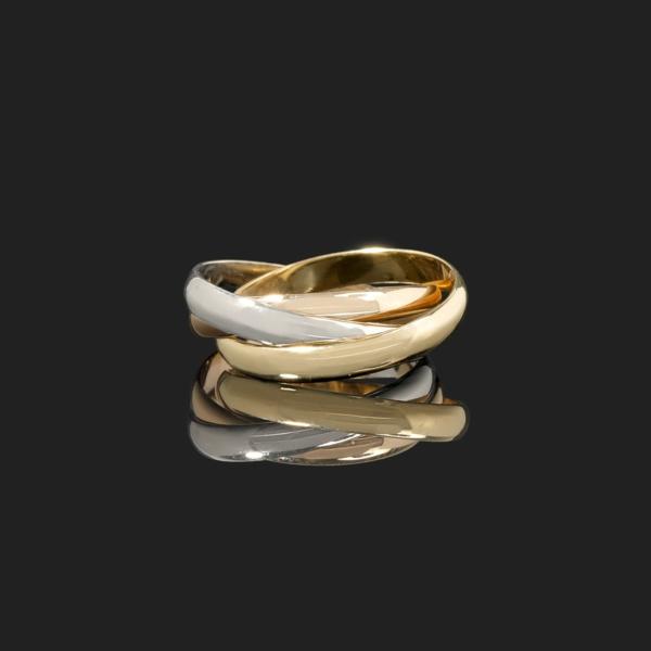 Bague-trois-anneaux-jolie-faux