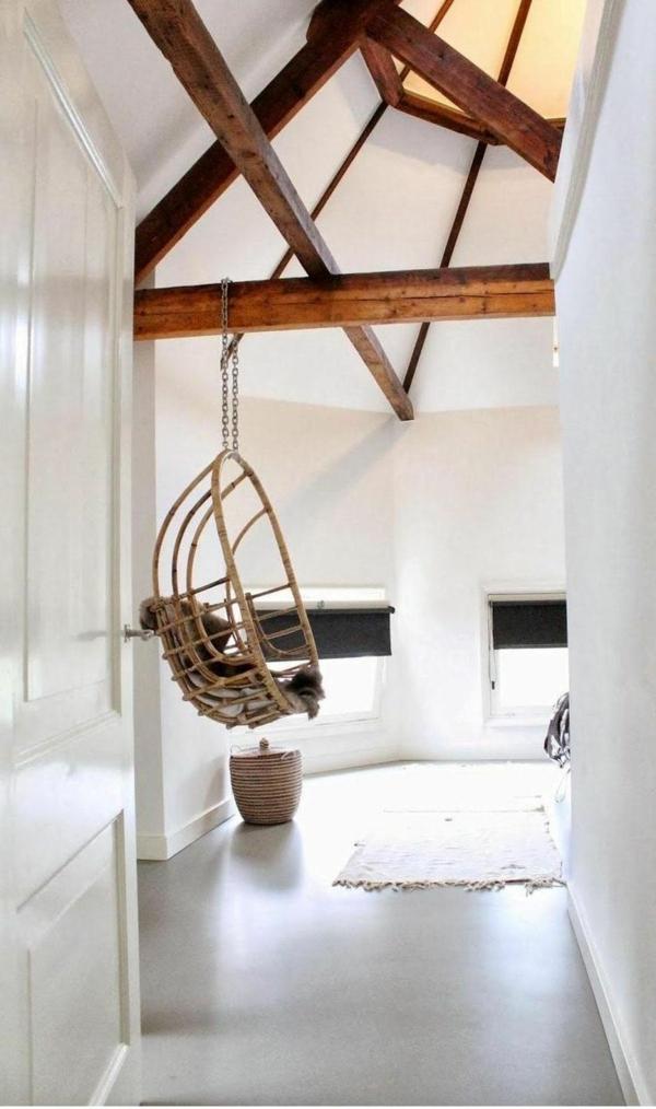 Balançoire-salon-balançoir-meuble-bois-ronde-fouteille