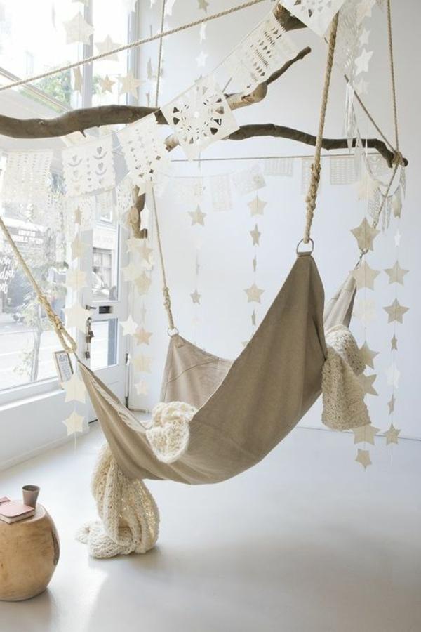 Balançoires-salons-design-intérieur-hamac-confort