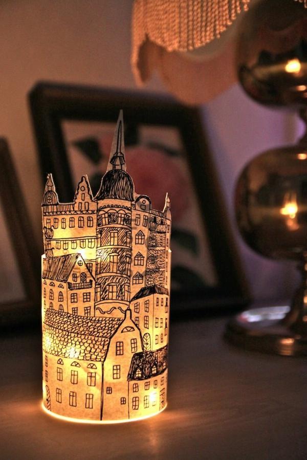 60 id es avec les bougies d coratives - Decoration avec des bougies ...