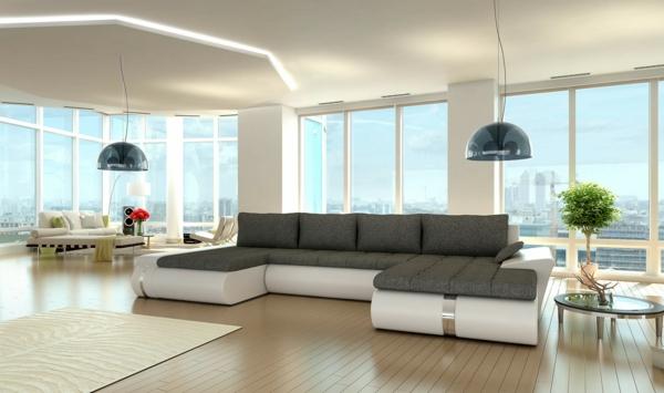 Canapé-d-angle-cuir-convertible-idee-creative
