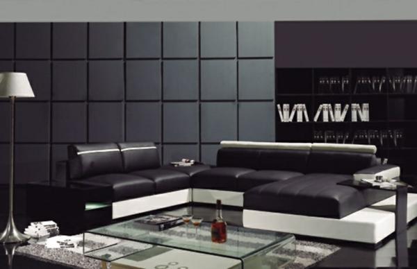 Canapé-d-angle-en-cuir-salon-chambre-gris