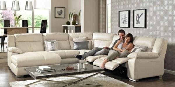 Canape-angle-pas-cher-espace-séjour-couple