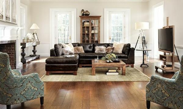 Canape-angle-pas-cher-espace-salle-de-séjour