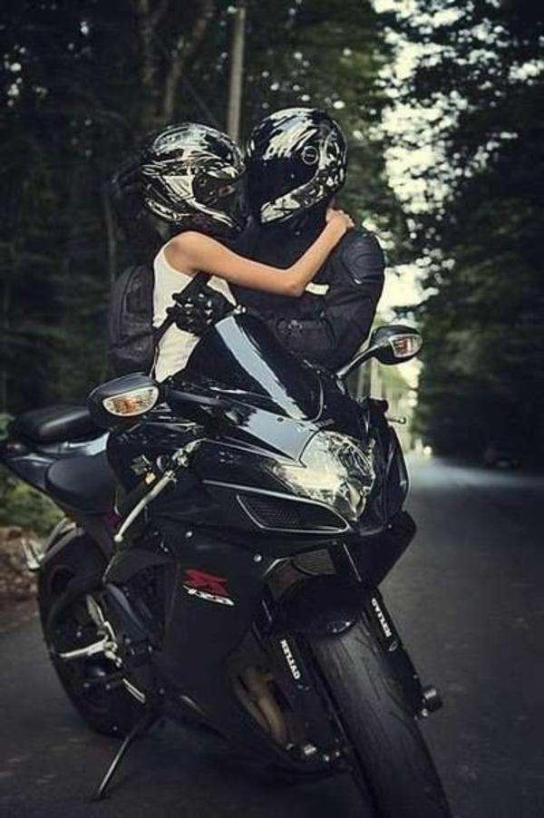 Casque-de-moto-original-couple-amoureux