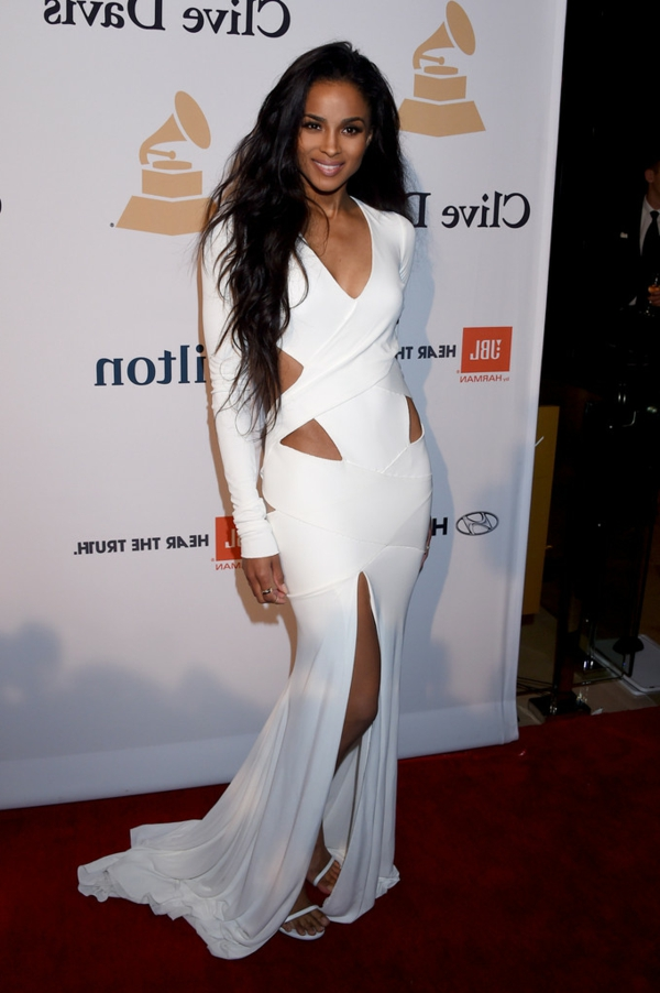 Ciaras-Pre-Grammy-Gala-Alexandre-Vauthier-Spring-2015-Couture-White-Cut-Out-High-Slit-Gown1-resized