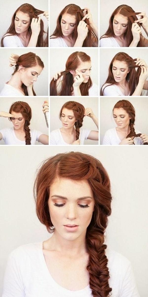 Coiffure-femme-cheveux-long-vintage-tresse