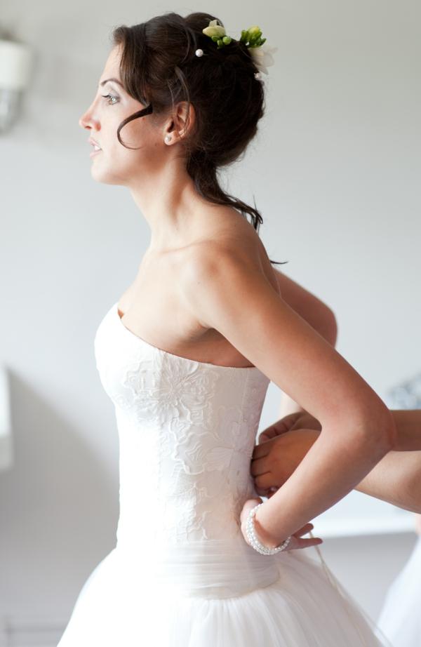 50 id es pour votre coiffure mariage cheveux mi longs. Black Bedroom Furniture Sets. Home Design Ideas